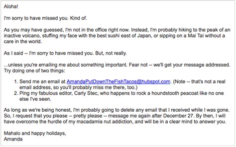 ooo mail template 10 of the best out of office messages we could find