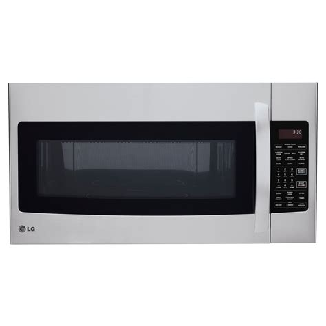 shop lg 1 7 cu ft the range convection microwave with