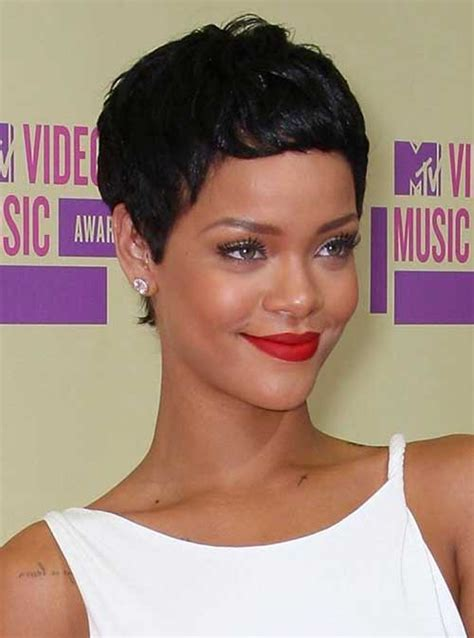 15 Best Rihanna Pixie Cuts   Short Hairstyles 2016   2017