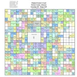 colorado township range map marion co ar landowner maps