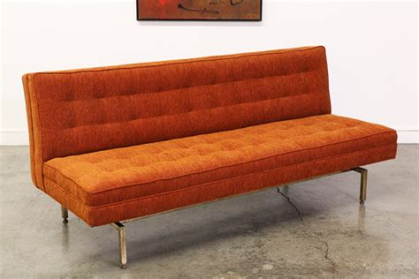 florence knoll sofa vintage florence knoll style floating tufted sofa vintage supply