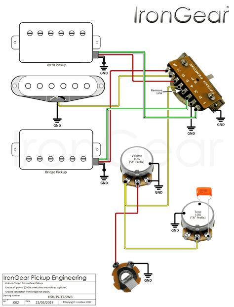 guitar wiring diagram hsh wiring diagram with description