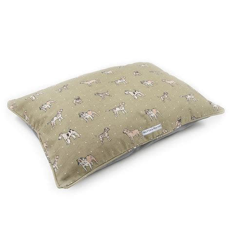 dog pillows and beds pasha pet bed a pillow shaped dog or cat bed dog beds and