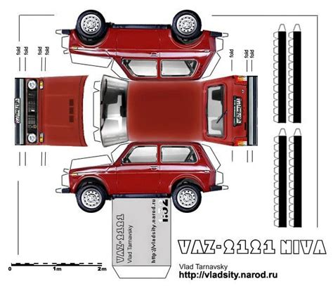 Car Paper Craft - 67 best images about lada niva on models i