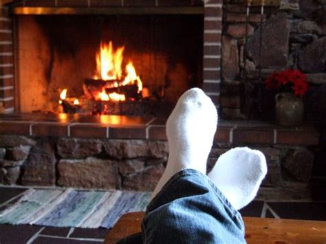 Relaxing Fireplace by Relaxing By The Fireplace I Mittens Slippers