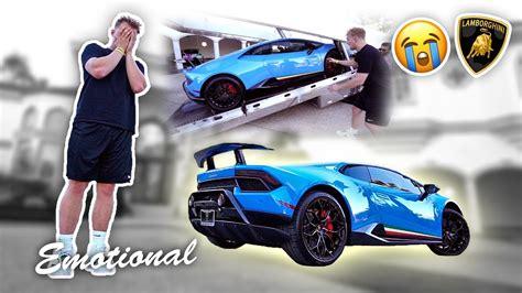 jake paul car buying my 350 000 dream car emotional youtube