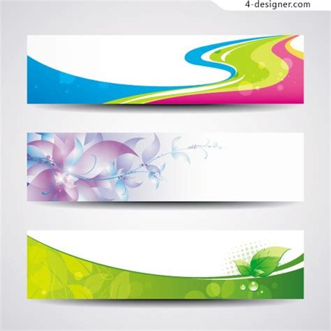 design templates for banners 4 designer creative banner template design vector material