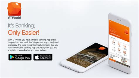 gt mobile app gtworld is nigeria biometric mobile app from gtbank