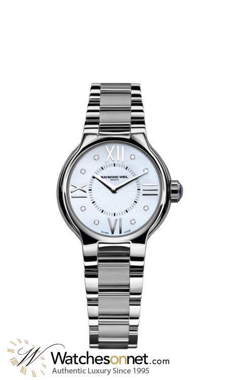 10 Mm White Bracelet Intl raymond weil noemia 5932 st 00995 s stainless steel