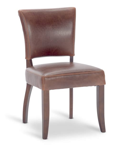 flair leather dining chair hom furniture furniture