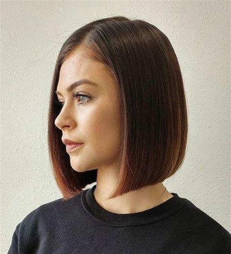 shoulder length blunt cut best 25 medium length bobs ideas on pinterest bobs