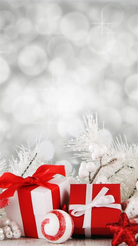 wallpaper christmas  year gist box star decorations white holidays