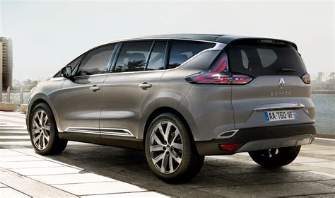 renault espace 2015 2015 renault espace first photos revealed autoevolution