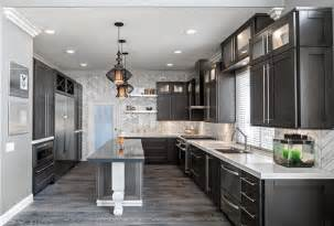 Grey And Yellow Kitchen Ideas - grey hardwood floors how to combine gray color in modern interiors