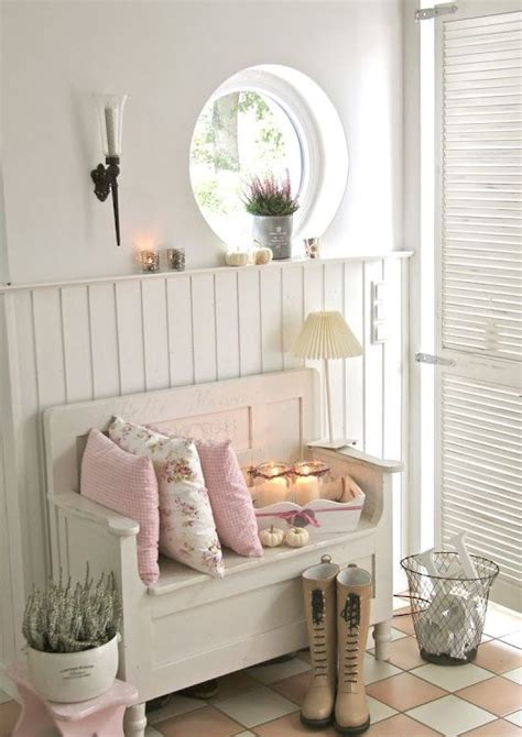 shabby cottage home decor 25 cute and sweet shabby chic hallway d 233 cor ideas digsdigs