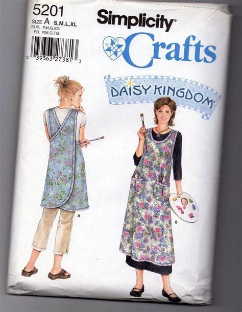 wrap around apron pattern uk daisy kingdom oop 5201 wrap around apron pattern women s