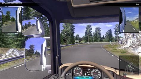 scania truck driving simulator 2013 demo gameplay