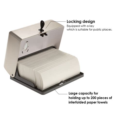 commercial paper towel holder dispenser mounted bathroom