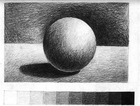 Drawing Value 3 spheres and shading