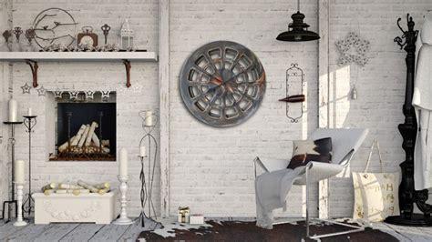 Handmade Clocks Uk - 30 quot large artistic wall clock contemporary work of