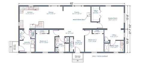 two master modular home plans with 2 master suites