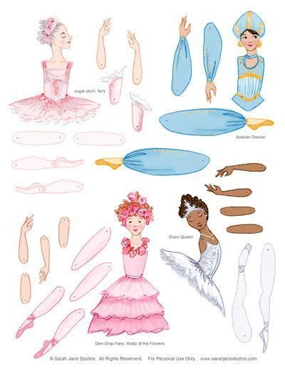 jointed paper doll ballerina design art journal pinterest 235 best articulated and jumping jack paper dolls images