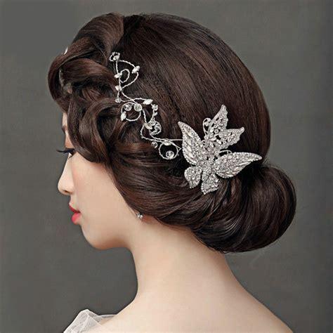 Wedding Hair Accessories Butterfly by Buy Wholesale Luxury Wedding Headdress Jewelry Butterfly