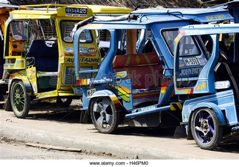 philippines motorcycle taxi tricycle philippines stock photos tricycle philippines