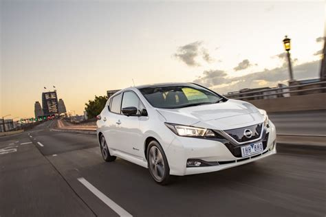 2019 Nissan Leaf Review by Nissan Leaf 2019 Australia Review Practical Motoring