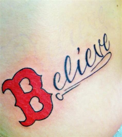 boston strong tattoo i dont like tattoos but come on its a sox one
