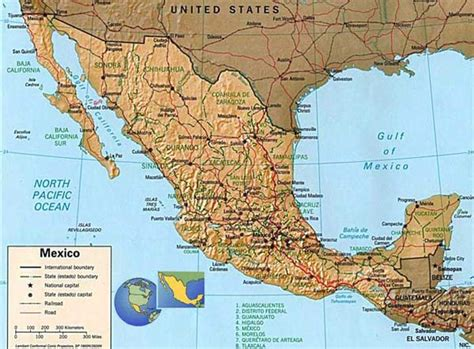 map of southern us and mexico the southern border maps
