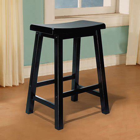 Antique Black Counter Stools by Saddle Seat Counter Stool Antique Black Walmart