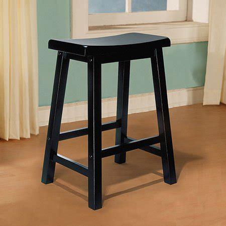 Saddle Seat Counter Stool Black by Saddle Seat Counter Stool Antique Black Walmart