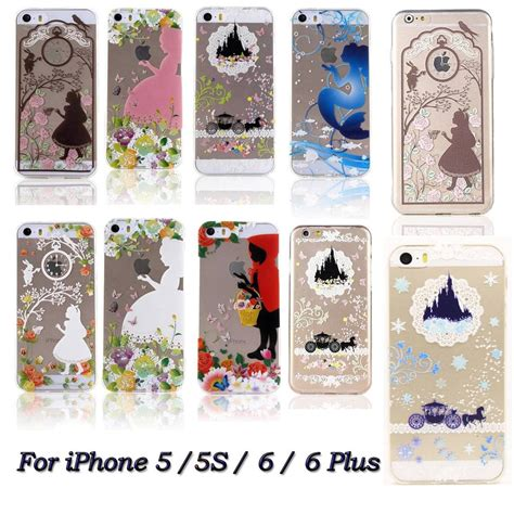 Disney Iphone 5 5s 6 6s 6 6s ultra thin disney princess clear soft rubber back for iphone 5s 6 6s plus ebay