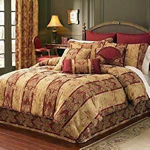 Gold Comforter Sets Queen Amazon Com Croscill Columbia Comforter Bed Skirt And