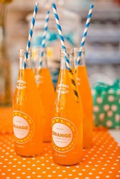 Picture Of Cheery Orange Wedding Ideas