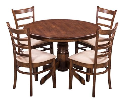 Coco Dining Table Buy Royal Oak Coco Dining Table Set With 4 Chairs Brown For Rs 14249 56