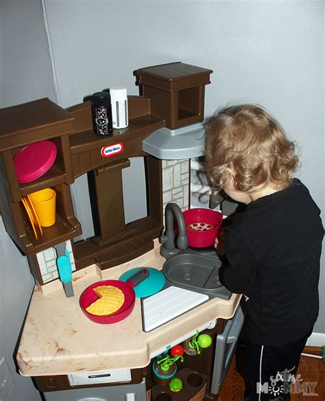 Cook And Learn Kitchen by Get Them Cooking Away With The Tikes Cook N Learn