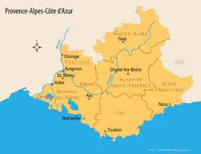Map Of Provence France by Map Of Provence And Travel Guide To One Of The Most Loved