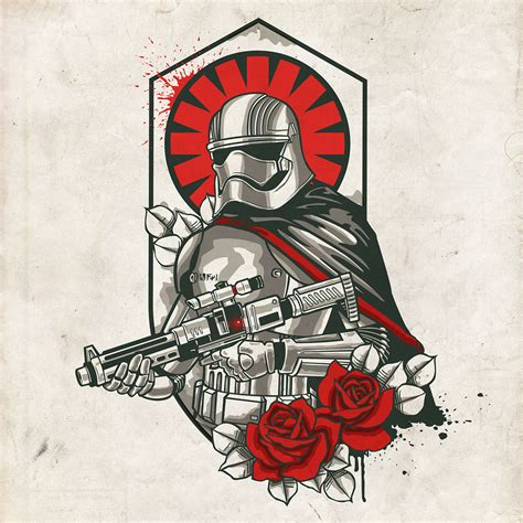 Tattoo Old School Star Wars | star wars 7 old school tattoos on behance