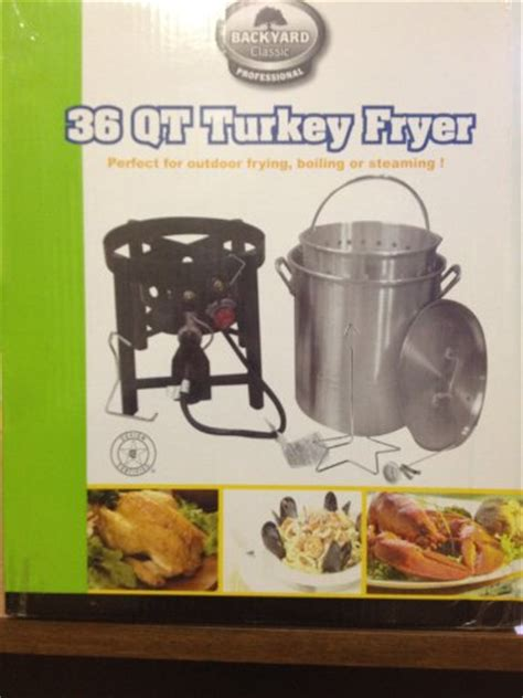 backyard classic professional backyard classic professional 36 quart turkey fryer outdoor fryers and accessories