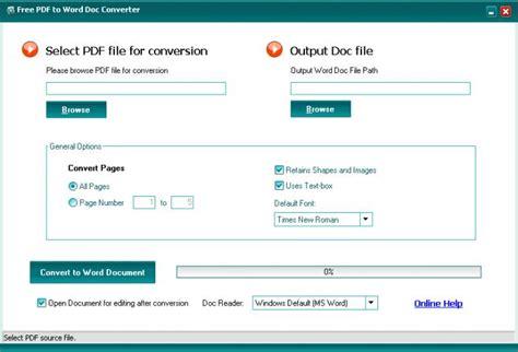 convert pdf to word pdf xchange editor free pdf to word doc converter download