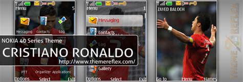 nokia x2 ronaldo themes cristiano ronaldo nokia 40 series theme themereflex