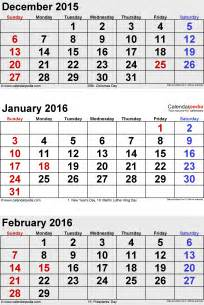 december 2015 to january 2016 calendar free calendar 2017