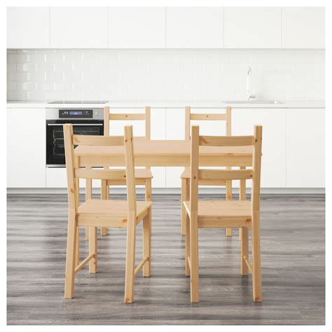 stuhl ivar ingo ivar table and 4 chairs pine 120 cm ikea