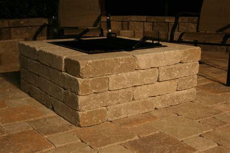 pavestone pit whiz q s pavestone pit traditional patio dallas