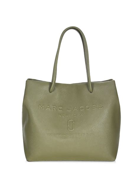 Versace Icon Monogram Eastwest Satchel by Lyst Marc Logo Shopper East West Tote In Green