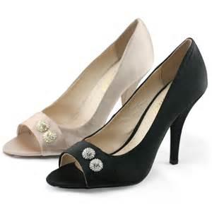 Dress Black Newstyle Fashion Impor shoezy womens rhinestone peep toes pumps wedding evening