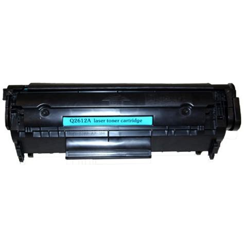 Printer Hp Q2612a v4ink remanufactured toner cartridge replacement for hp 12a q2612a black