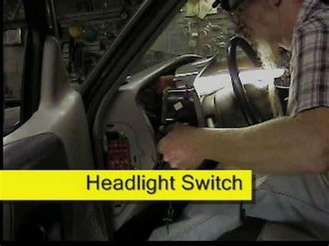 1996 ford ranger headlight switch wiring diagram